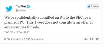 Twitter buyer beware adam townsend ipo