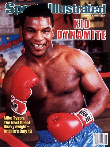 Young Mike Tyson Adam Townsend