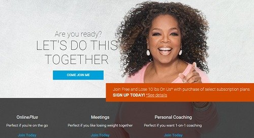 "Oprah Winfrey ""let them eat (Weight Watchers) cake"" - Adam Townsend"