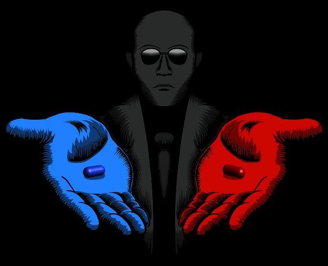 Future America. Matrix. Blade Runner. Terminator. Jetsons. Delusion...
