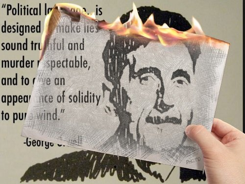 Orwell Foresaw the Disintegration of Our Language
